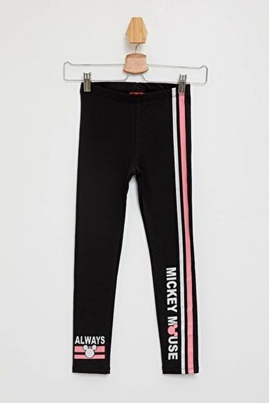 DeFacto Mickey Mouse Lisanslı Slim Fit Tayt Siyah